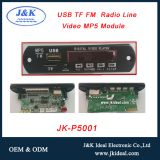FM radio usb mini sd car mp3 mp4 mp5 video player module