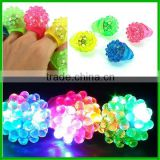 2017 Strawberry Glow Light Ring Torch LED Finger Ring Lights
