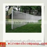 China pvc coated stainless steel wire mesh chain link fence rubber/black powder coated chain link fence