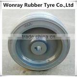 Genie Scissor Lift Replacement Rubber Wheels 10*3,Part Number 96252, Wheel & Tire 10x3, LP15 with long warranty