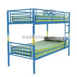 milimitory heavy duty steel metal bunk beds with plank