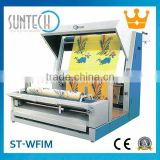 SUNTECH Fabric Inspection, Winding, Folding, Packing Machines; No.1 on Alibaba; Visit us at ITMA 2015, Italy. Stand No.: H6-C110