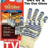 oven glove elaborate Top Class BBQ glove- Gift box packaging(2 gloves included)