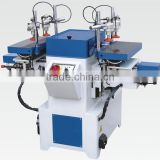 Horizontal and Two-spindle Mortising Machine SH1912A with Max.mortise width 120mm and Max.mortise depth 50mm