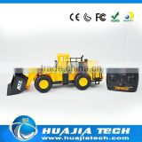 6CH RC Bulldozer Toy Car kids plastic construction toy