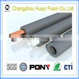 hot sale soft foam rubber tube foam pipe, Pvc/nbr closed cell elastomeric rubber foam thermal tube insulation