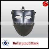 NIJ IIIA 9mm protection Aramid Half Bulletproof Face Mask, Ballistic Face Mask,Bulletproof Mask