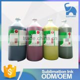 Cheap price super quality inkjet printer textile water based sublimation digital printing ink