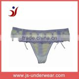hot selling europe standard embroidered thong