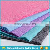 INquiry about Hot Sale 98 Polyester 2 Spandex Stretch Knitted Space Dyed Fabric