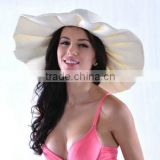 Custom promotional fashion cheap beach women straw hat