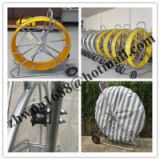 Yellow Duct Snake,Non-Conductive Duct Rodders,Fiber snake