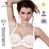 Fitness Full Transparent Sexy Design Girls Lace Bra Bralette