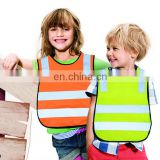 EN 1150 children high visibility safety vest