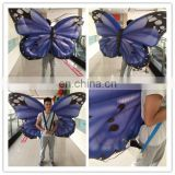 Fancy dress Hot sale High Quality Butterfly Wing Halloween Inflatable Costumes Animal Unisex Adult For Advertising Party Parade