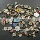 Kuchi & Turkmen Small Jewelry Parts Mixed Shapes Dangles 1000 Grams