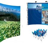 Fabric displays,Fabric pop up display,Tension fabric display,pop up fabric displays,fabric pop up banner