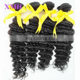 Top grade soft and smooth peruvian virgin hair bulk, virgin peruvian deep wave hair
