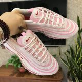 Nike MAX 97 with Pink Red shoes for nike shoes on sale 50 off