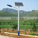 Hot Deep Galvanized Pole, Die-Casting Aluminum Lamp Body, High Power 12V 30W LED Street Light