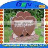 Red Heart Granite Memorial Tombstone Monuments