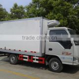 Euro IV JAC small ice cream freezer,4x2 refrigerated truck for sale in Ghana