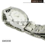 stainless steel band watch miyota 2035 movement watches
