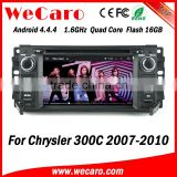 Wecaro WC-JC6235 Android 4.4.4 car dvd player HD for chrysler 300c radio 2007 - 2010 Steering Wheel Control