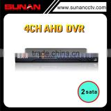 H.264 CCTV 4CH CMS Free Software Cloud-based 1080P AHD DVR h 264