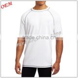 Men's quick dry t shirt wholesale 100 polyester promotional sport tshirt with custom logo