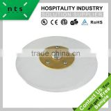 hotel restaurant five wheels transparent tempered glass lazy susan