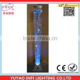 1 meter water lamp for wedding decoration with plastic fish