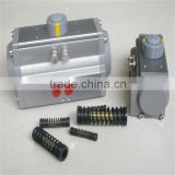 Pneumatic Rotary Actuators,Gear rack and pinion in Stainless steel and Aluminum Alloy material