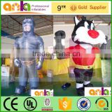 warranty 12 months giant inflatable cow costume with fast delivery