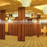china manufacturer aluminum movable partition and movable sound proof partition wall for hotel
