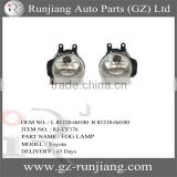 Fog Lamp For Toyota Corolla 2014 corolla 2014 spare parts OEM NO.:L 81220-0d100 R 81210-0d100