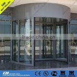 Malta International Airport, 2 wing automatic revolving door, 3 in 1 function, CE UL certificate