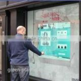 Interactive touch foil,touch film,dual touch foil and multi touch foil 40inch on glass window