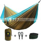 Trek Camping Hammock - Lightweight Portable Nylon Parachute double Hammock with Hammock tree Straps