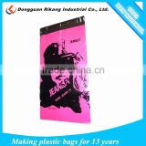 Customized PE packaging clear plastic polybag shipping envelope bags