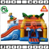 factory price high quality inflatable backyard and outdoor party used playground combo games prices for kids and adults