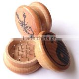 2-part wood grinder herb