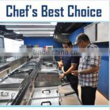 Commercial Stainless Steel Hotel Restaurant Kitchen Equipment Factory Supplier