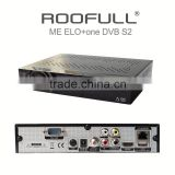 Universal Full Hd Digital Satellite Tv Decoder MEELO+ ONE With Linux Os For UK