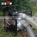 BISON(CHINA) 6 inch Farm Irrigation Movable Diesel Water Pump                                                                         Quality Choice