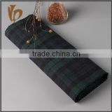 China supplier yarn dyed 100% linen check t shirt material fabric