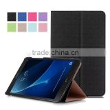 wallet style flip stand leather case for samsung TAB A 10.1