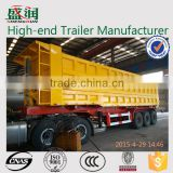 China manufacture widely used 3 axles dump truck trailers for sale