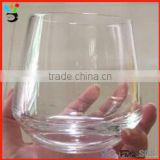 Rocking Style Clear Drinking Tumbler Spinning Whisky Novelty Roly-poly Glass Cup