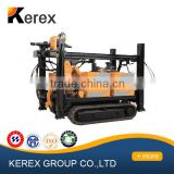 Hot sale!!! 200m depth crawler used portable water well drilling rigs for sale XFD200 Kerex China